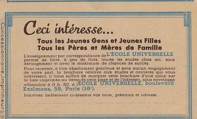 Carnet190C1 - Philatelie - Timbre de France n° YT 190C1 carnet d'usage courant - Timbres de collection
