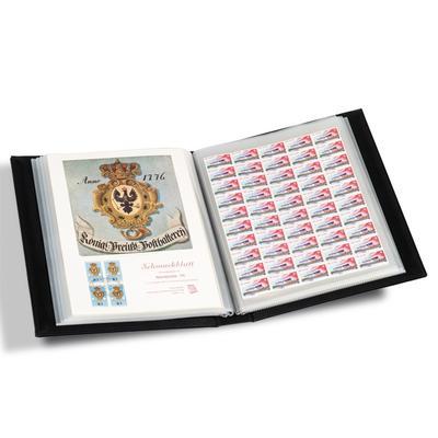 album pour feuilles de timbres zoom classeurs pour feuilles enti res. Black Bedroom Furniture Sets. Home Design Ideas