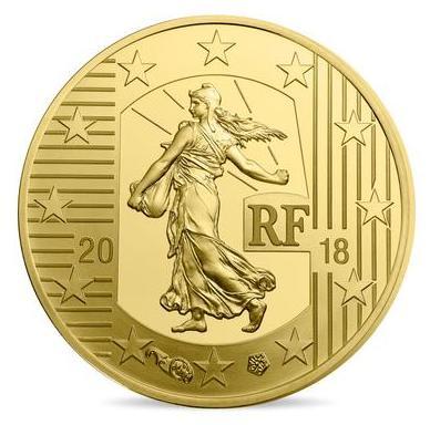 piece de monnaie 2018