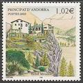 AND579 - Philatélie - Timbre d'Andorre N° Yvert et Tellier 579 - Timbres de collection