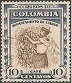 Philatélie - Colombie - Timbres de collection