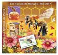 Marigny 2017 - Philatelie - bloc 4 jours de Marigny - timbre de France de collection