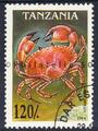 timbre de crabe Philatélie 50 timbre de collection thématique d'animaux