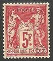 RF216 - Philatélie - Timbre de France N° Yvert et Tellier 216 - Timbres de collection