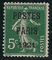 RFP26OBONCENTRAGE - Philatelie - Timbre de France préoblitéré N° Yvert et Tellier 26 oblitéré bon centrage - Timbres de collection