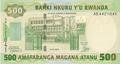 Rwanda - Philatélie - Billets de banque de collection