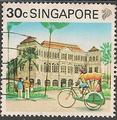 Philatélie - Singapour - Timbres de collection
