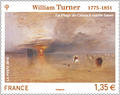 William TURNER - Philatélie 50 - timbre de France adhésif