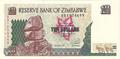 Zimbabwe - Philatélie - Billets de banque de collection